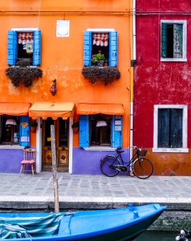 Burano Island Streetscape