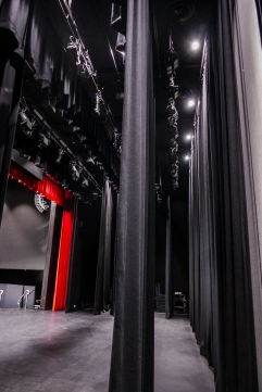 Backstage curtains