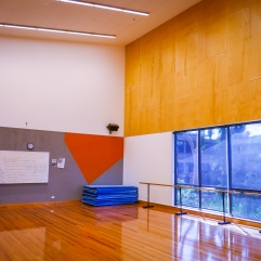 The dance studio with great natural light