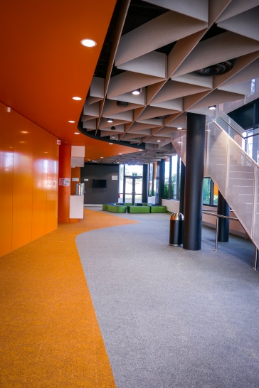 The public foyer space and box office
