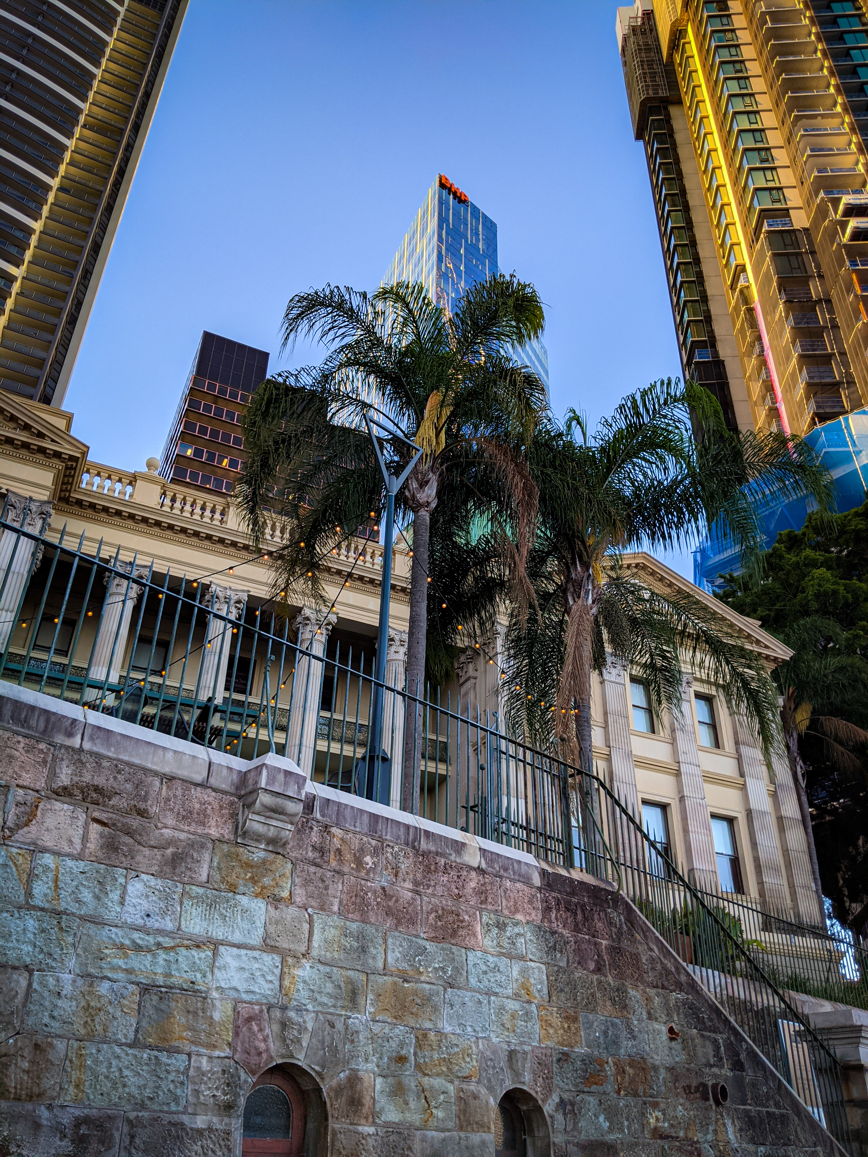 The Old Customs House from the Brisbane Riverwalk